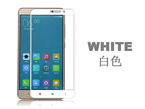 Premium Xiaomi Redmi Note 3 / Redmi Note 3 / Mi Note 3 / Redmi Note 3 / Mi Note 3 Tempered Glass Mobile Screen Protector (WHITE) For Redmi Note 3- (Transparent)