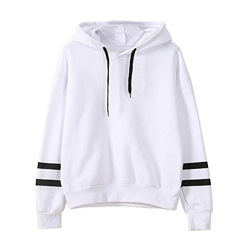 Women Fashion Swearshirt,Malloom Long Sleeve Hoodie Sweatshirt Jumper Hooded Pullover Tops Blouse...