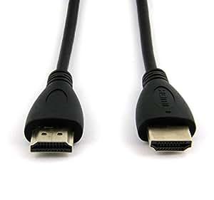 1 M câble hDMI pour sony - 55 x kD 9005 b téléviseur qualitätskabel-câble de raccordement câble de raccordement, hDMI, connection v1.4 1080P pour écran lCD hD hDTV xC1129-dVD pilates or-full hD, connecteur mâle/mâle