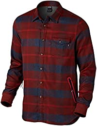 Chemise Oakley Fp Dwr Flannel Fired Brick