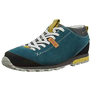 AKU BELLAMONT SUEDE, Unisex Adults' Multisport Outdoor, multi-coloured (PETROL/OCHRE), 9.5 UK (44 EU)