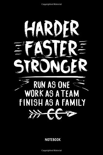Harder Faster Stronger | Notebook: Lined Cross Country Running Notebook / Journal. Great CC Accessories & Novelty Gift Idea for all XC Runner. - Country Boy T-shirt