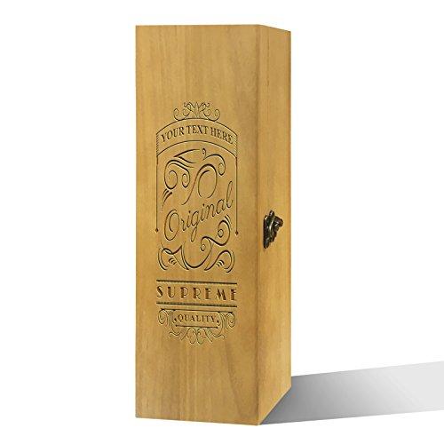 Twisted Envy personalisierbar Original Supreme Qualität Luxus lackierte Holz Wein Box