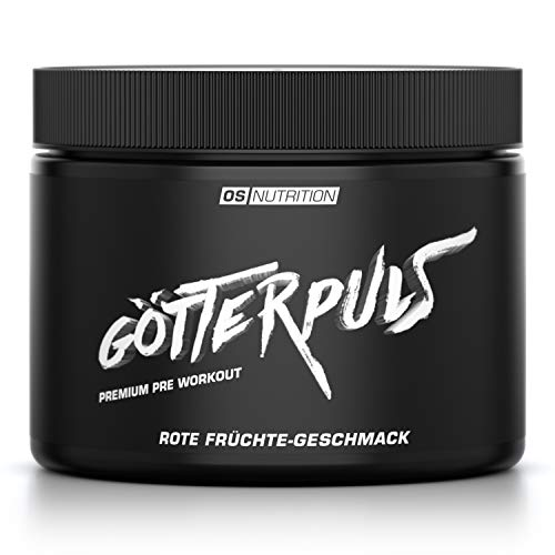 Premium Pre Workout Götterpuls - OS NUTRITION Rote Früchte 308g - made in Germany