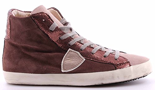 Scarpe High Top Sneakers Uomo PHILIPPE MODEL Paris Classic Mixage Mud Champ ITA