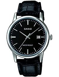 Casio Reloj con movimiento cuarzo japonés Mtp+V002L.1A Negro 40  mm