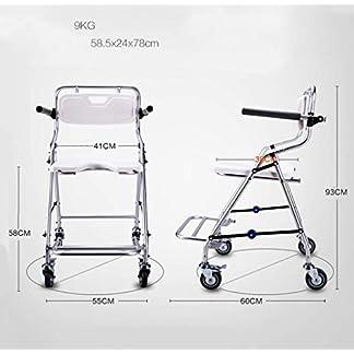MJY Baño Silla de ducha de baño plegable con ruedas Reposabrazos y respaldo, Silla de ducha antideslizante de aleación de aluminio Personas mayores Bañarse en silla de ruedas Mujer embarazada Asiento