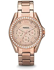 Damen-Armbanduhr Fossil ES2811