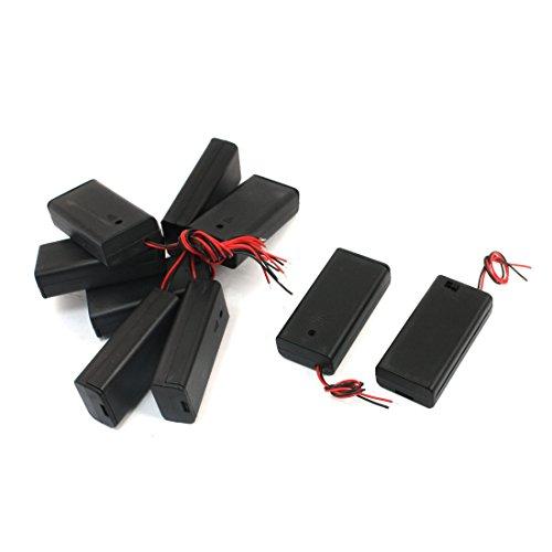 9 Stücke auf/Ausschalter 2 x 1,5 V AA Battery Holder Box B Schutzhülle Hülle