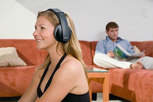 Sony MDRDS6500 Funkkopfhörer in 7.1 Digitalqualität, schwarz - 7