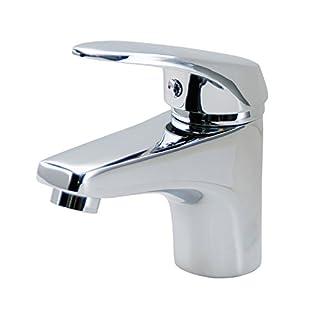DP Bath Sauce - Single lever basin mixer tap, silver