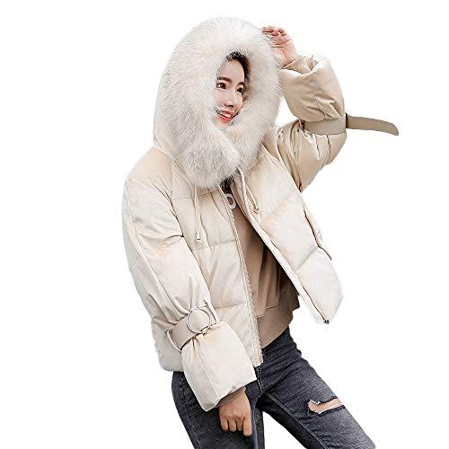 Damen Steppjacke MYMYG Winter Warm Coat Wintermantel Kurz -