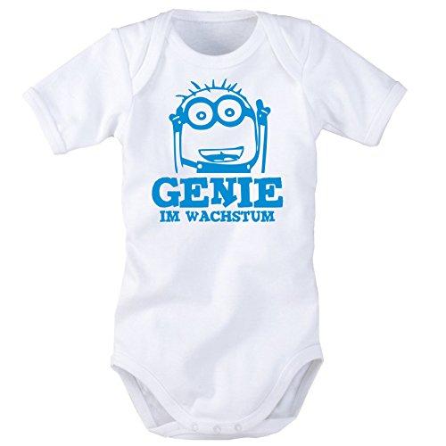 Babybody mit Aufdruck: GENIE im Wachstum (50/56)