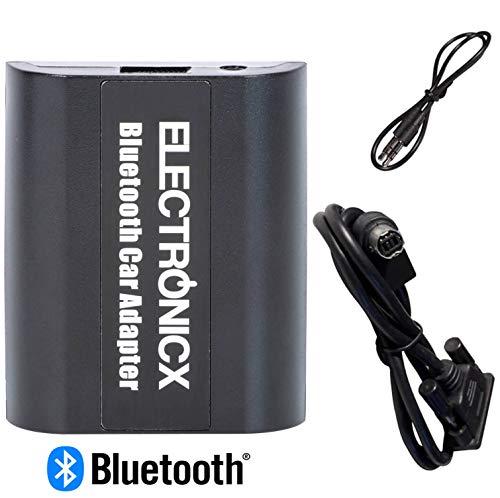 Electronicx Elec-BTA-AI-NET Bluetooth Freisprechanlage, Bluetooth Musik Streaming, Adapter Originalradios, AUX USB Audio Alpine-adapter