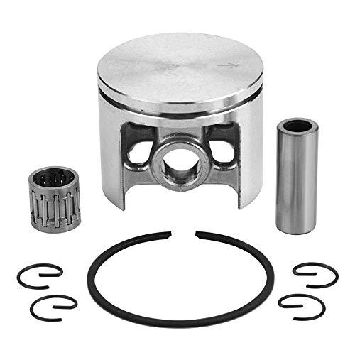 TOPINCN Kolbenring-Set, einfach für Ersatz für Husqvarna 266 XP 268 Spezial-Kettensägenzubehör 50 mm