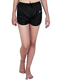 SPIEL Women's Running and Yoga Black Short