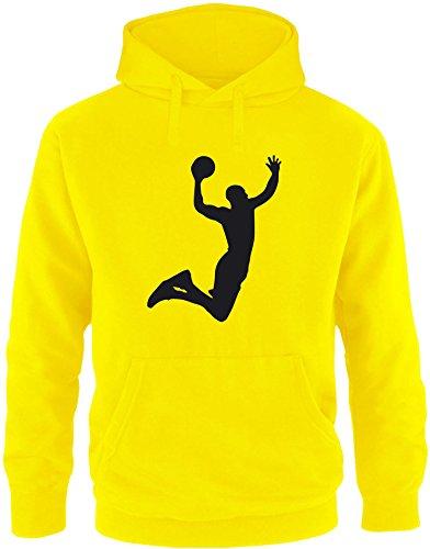 EZYshirt® Basketball | Slam Dunk Herren Hoodie (Kordelzug Pullover Charles)