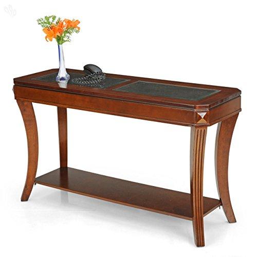 Royal Oak Jerry Console Table (Honey Finish, Honey Brown)