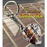 Printed Picks Company My Chemical Romance Frank Guitar Pick Keyring