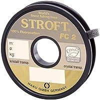 STROFT FC2 - Hilo de pescar de fluorocarbono, 25 m Talla:0,600mm-22kg