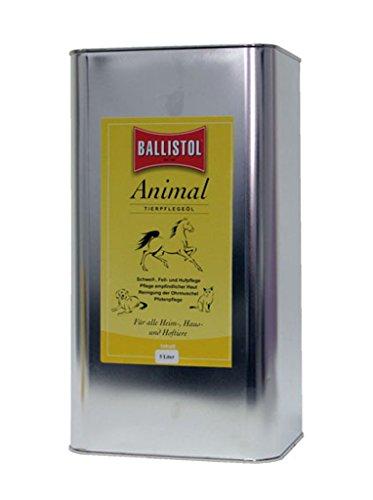 BALLISTOL Animal Pflegeöl für alle Vierbeiner 5l, für Tiere