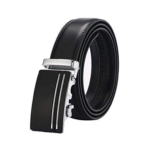 aoliaoyudonggha Leather Strap Male Automatic Buckle Authentic Girdle Trend Men's Belts Ceinture Hot Pink Cummerbund-set