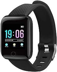 YUPA Smart Watch Fitness Tracker con cardiofrequenzimetro, impermeabile IP67, orologio fitness per uomo e donn