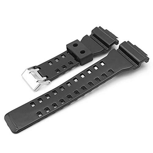 k Uhrenarmband für G-Schock Genitalsit-Watchstrap-Lins1205 Ersatz schwarz wasserdichte Damen Uhrenarmbänder ()