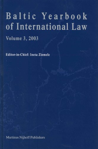 Baltic Yearbook of International Law 2003: v. 3