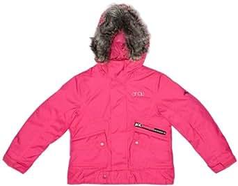 O'Neill Gemstone Girls Jacket Beetroot Pink 8 years