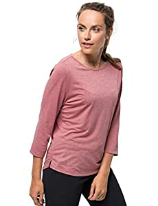 b600064618ace6 Jack Wolfskin JWP T-Shirt Women Shirt Blue 2019 Langarmshirt: Amazon ...