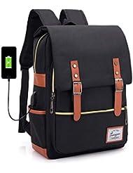 8f3abd890 Mochila ligera Slim Business Laptop Backpack Elegante informal Mochila  deportiva al aire libre Mochila escolar Bolso