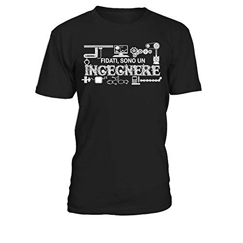 Fidati Sono Un Ingegnere T-Shirt Scollo Tondo Uomo