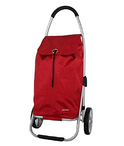 Einkaufswagen 2 Wheel Collapsible Utility Cart mit Radlager Einfach zu bedienen , 1