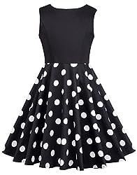 Fashion Kinder Kleid Aermellos Festliche Kinderkleider 8-9 Jahre CL10600-1