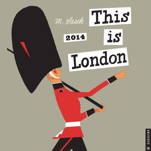 This is London 2014 Wall Calendar by M. Sasek