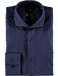 HUGO BOSS - Chemises - chemise slim fit marine jason