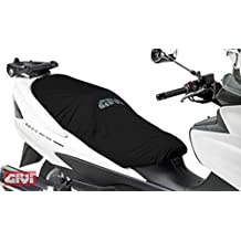 Cubierta Silla Scooter Kymco Agility City 125 R16 Givi S210 Negro