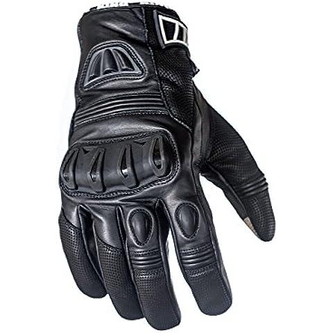 Proteger el rey Raven–Funda de piel motociclismo motorista guantes