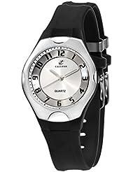 Calypso 5162/1 - Reloj de caballero de cuarzo, correa de goma color negro