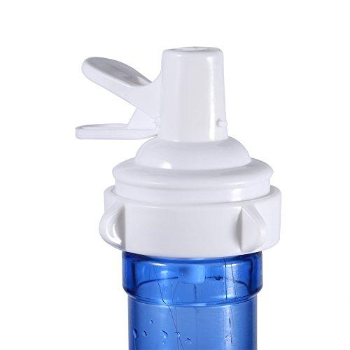 Zerodis Dispensador de agua, Dispensador de agua para garrafas o botellas, Dispensador de agua espita válvula de repuesto Dispensador de agua válvula superior para 48MM corona botella superior