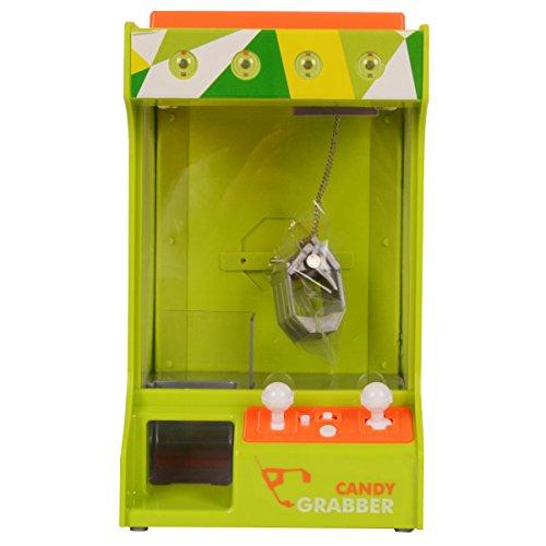 Preisvergleich Produktbild Goplus Süßigkeitenautomat Candy Grabber Greifautomat Spielzeug Geschenk Kinder Spender Spielautomat