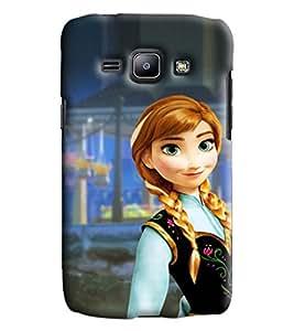 Blue Throat Aladin Princess Printed Designer Back Cover/Case For Samsung Galaxy J1 Ace