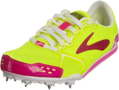 Brooks Women's Pr Ld W Nightlife/Pink/White Trainer