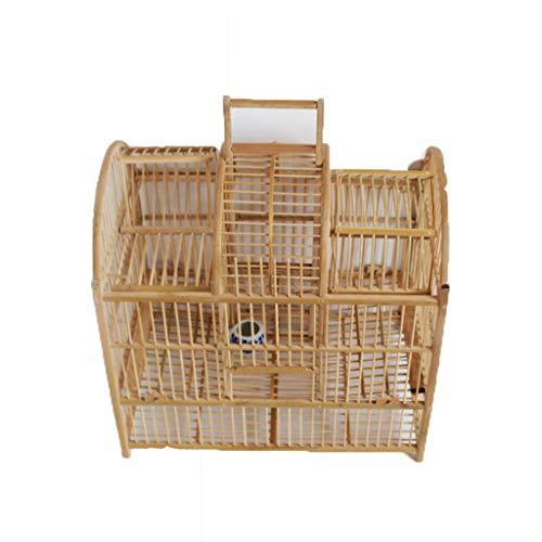 Handgemachte Windmühle Vogelkäfig Roller doppelseitige Körper Windmühle Caged Bamboo doppelseitige Schrittkäfig