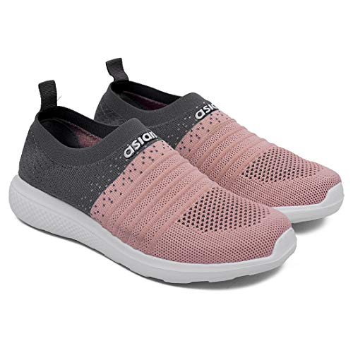 ASIAN Women's Fabric Sports (UK-6) Grey