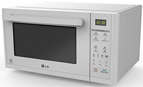 LG MJ3294BDW - MICROONDAS  900 W  CONVECCION 1200 W  CON GRILL Y 32 L DE CAPACIDAD  COLOR BLANCO