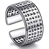 Women's silver ring with Chinese standard size