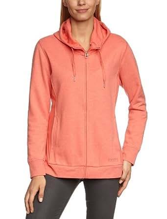 ESPRIT SPORTS Damen Sweatshirt 122ES1J020, Gr. 42 (XL), Rot (peach red 622)