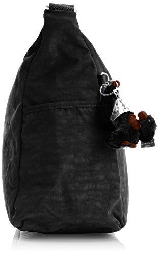 Kipling Alenya, Sac bandoulière mode Noir (Black)